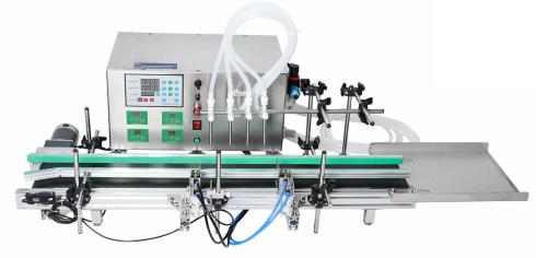 Автоматическая настольная мембранный насос для розлива жидкостей