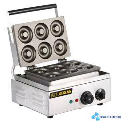 Аппарат для донатсов Ecolun на 6 ячеек