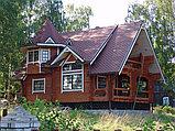 Финская гибкая черепица КАТЕПАЛ  (KATEPAL)   из Финляндии.  Коллекция  KATRILLI Осенне-Красный, фото 5