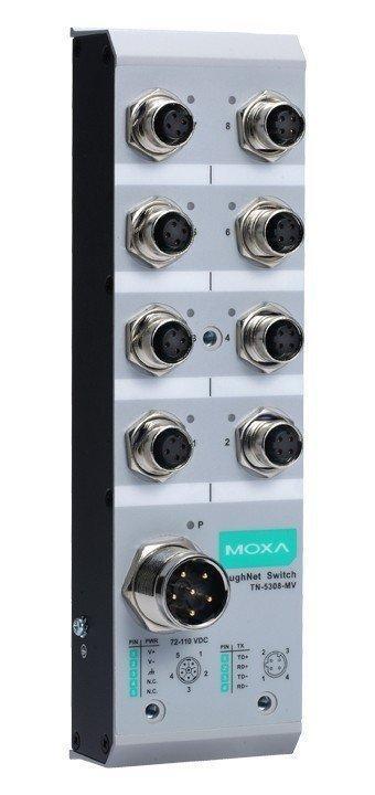 Промышленный коммутатор MOXA TN-5308-LV