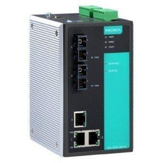 Промышленный коммутатор MOXA EDS-505A-SS-SC