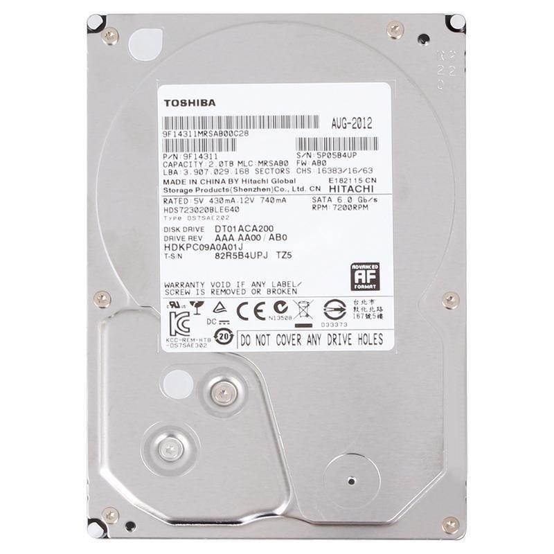 Жёсткий диск Toshiba DT01ACA200