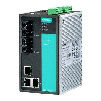 Промышленный коммутатор MOXA EDS-505A-SS-SC-T