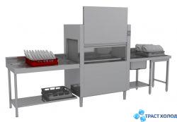 Тоннельная посудомоечная машина ELETTROBAR NIAGARA 411.1 T101EBDWAY
