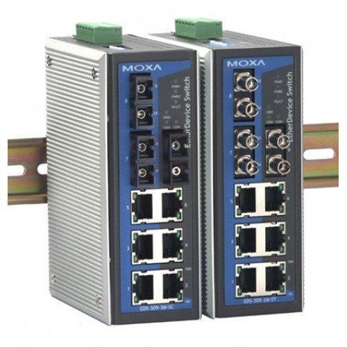 Промышленный коммутатор MOXA EDS-309-3M-ST-T