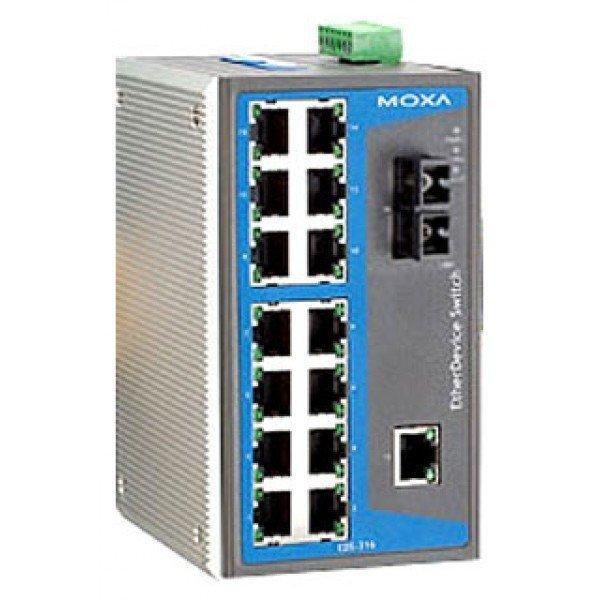 Промышленный коммутатор MOXA EDS-316-M-SC-T