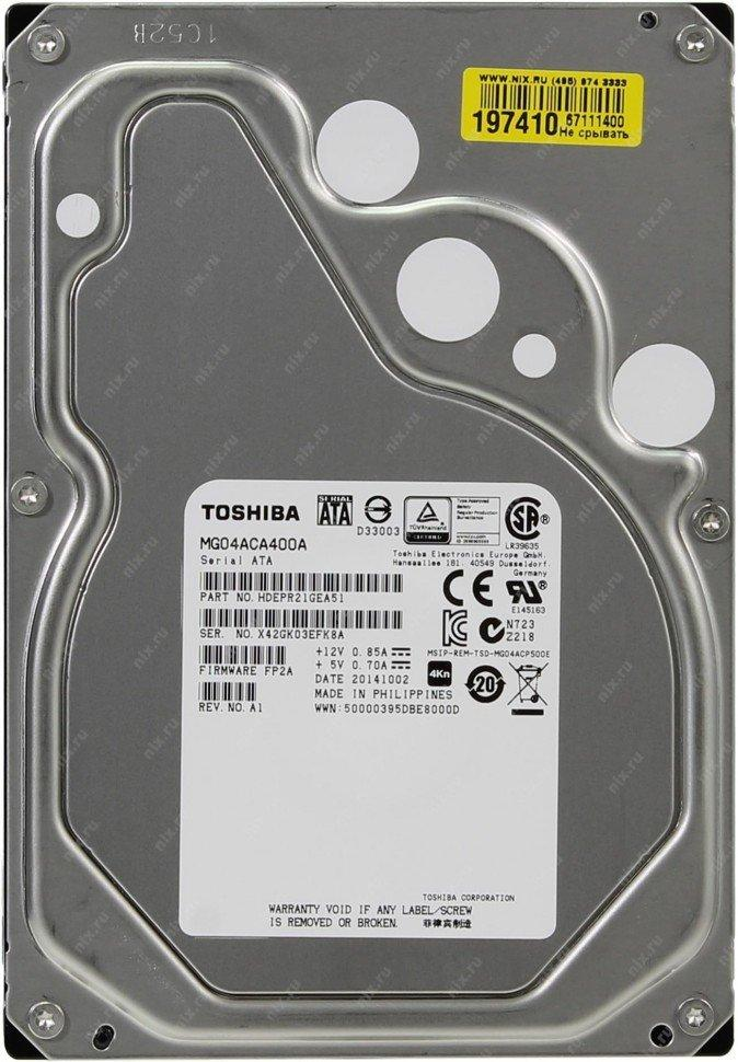 Жёсткий диск Toshiba MG04ACA400A