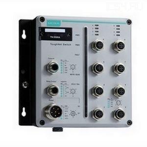 Промышленный коммутатор MOXA TN-5510A-2GLSX-ODC-WV-CT-T