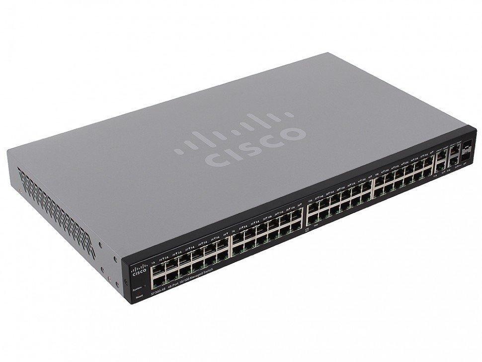 Коммутатор Cisco SF 300-48 (SRW248G4-K9-EU)