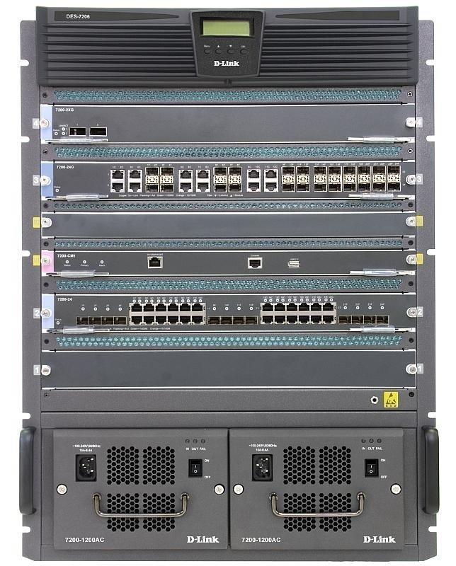 Шасси D-Link DES-7206-BASE