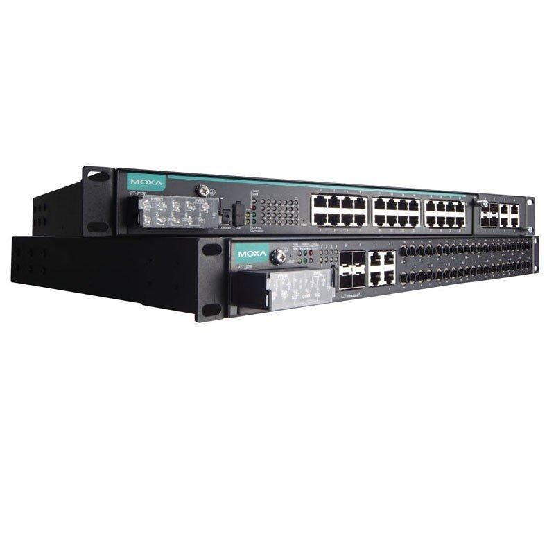 Промышленный коммутатор MOXA PT-7528-8SSC-16TX-4GSFP-HV-HV