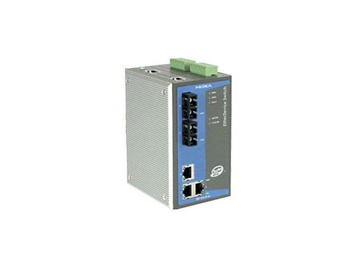 Промышленный коммутатор MOXA EDS-505A-MM-SC-T