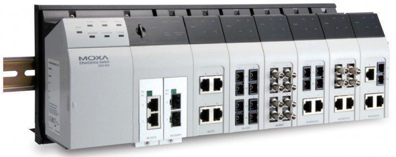 Промышленный коммутатор MOXA EDS-82810G