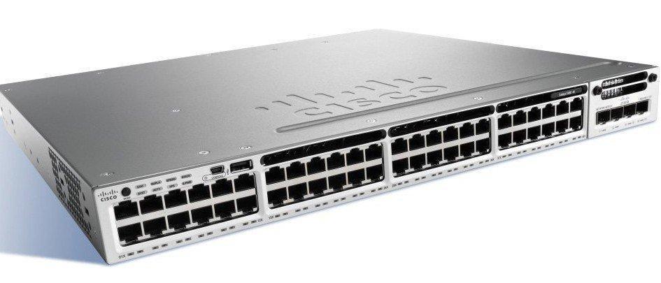 Коммутатор Cisco WS-C3850-48F-S