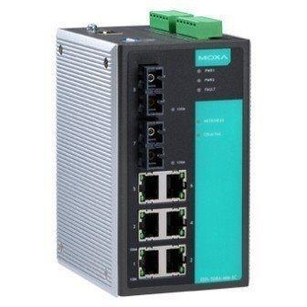 Промышленный коммутатор MOXA EDS-505A-MM-ST