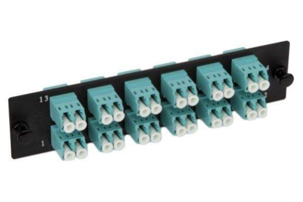 Панель Hyperline FO-FPM-W120H32-24LC-BL