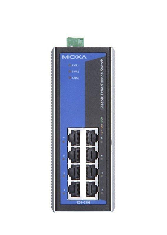 Промышленный коммутатор MOXA EDS-G308-T