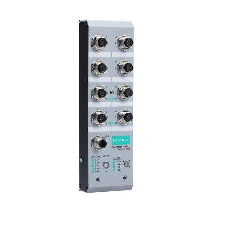 Промышленный коммутатор MOXA TN-5308-4PoE-48