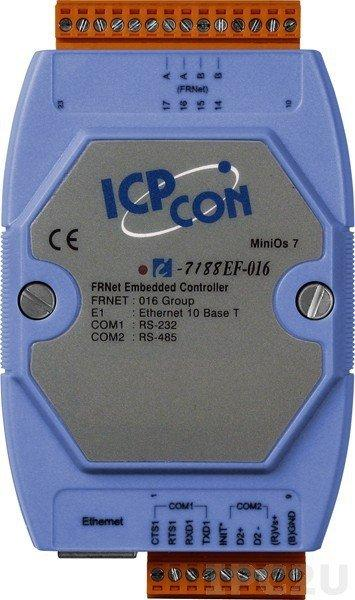 Контроллер ICP DAS I-7188EF-016