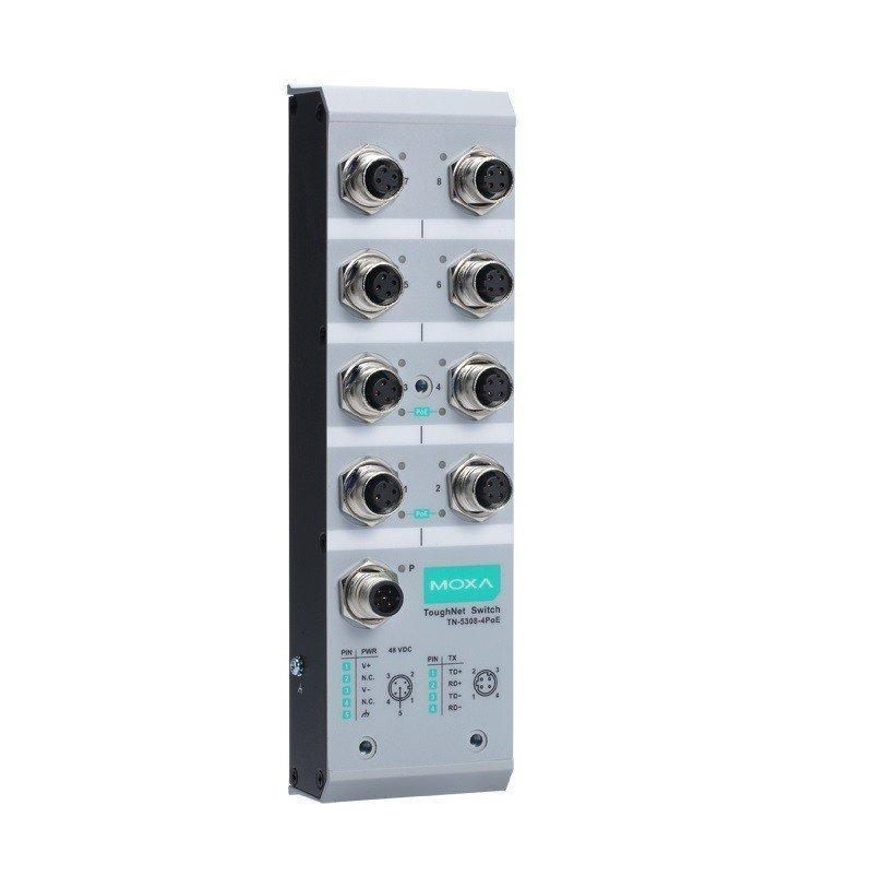 Промышленный коммутатор MOXA TN-5308-8PoE-48