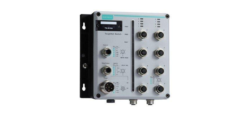 Промышленный коммутатор MOXA TN-5510A-2GLSX-ODC-WV-T