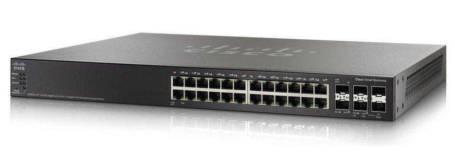Коммутатор Cisco SG500X-24P (SG500X-24P-K9-G5)