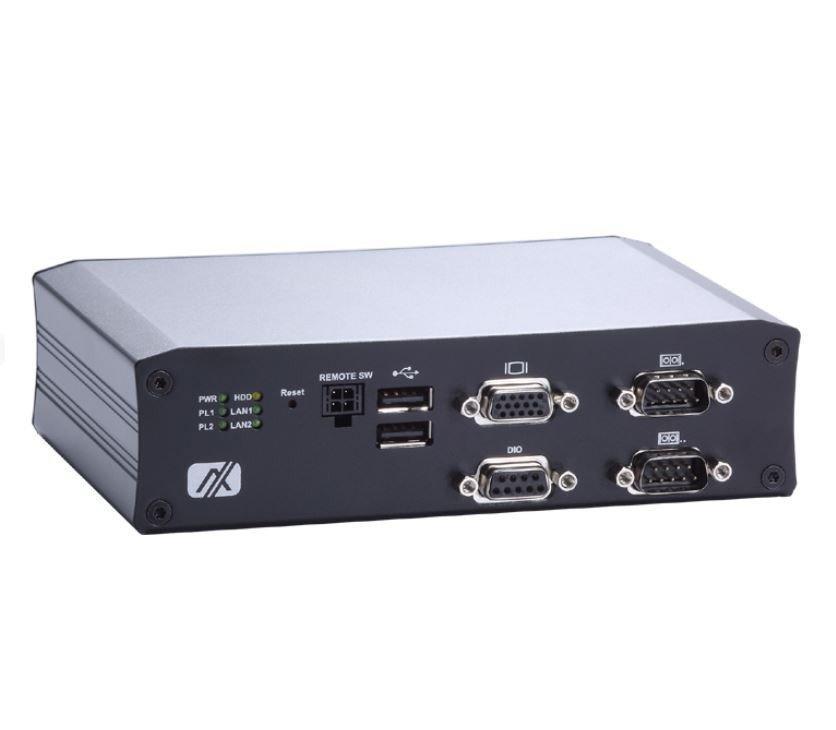 Промышленный компьютер Axiomtek tBOX810-838-FL-E3827-RJ-DC