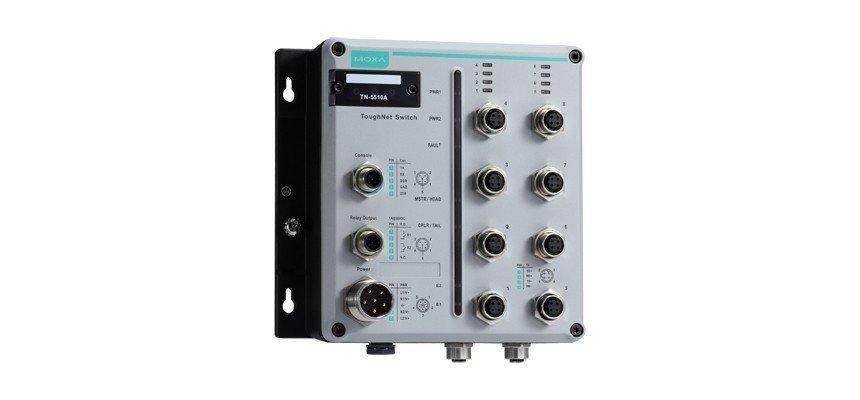 Промышленный коммутатор MOXA TN-5510A-2GTXBP-WV-CT-T