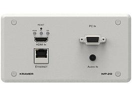 Передатчик HDMI Kramer WP-20/EU(B)-86 (20-80332190)