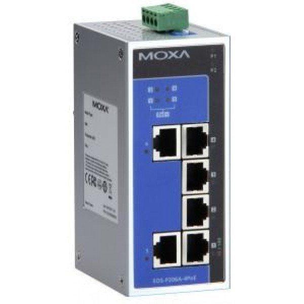 Промышленный коммутатор MOXA EDS-P206A-4PoE-M-SC-T