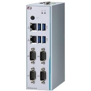 Промышленный компьютер Axiomtek ICO300-83B-N3350-4COM- DC