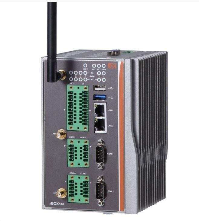 Промышленный компьютер Axiomtek rBOX510-6COM-FL-DC (ATEX/C1D2)