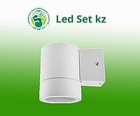 Светильник уличный односторонний GX53S-1W-цилиндр под лампу GX53 230B белый IP65 IN HOME