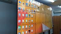 Комплект видео стены 3х3 ZAXTEAM 55 дюймов, шов 3,5 мм