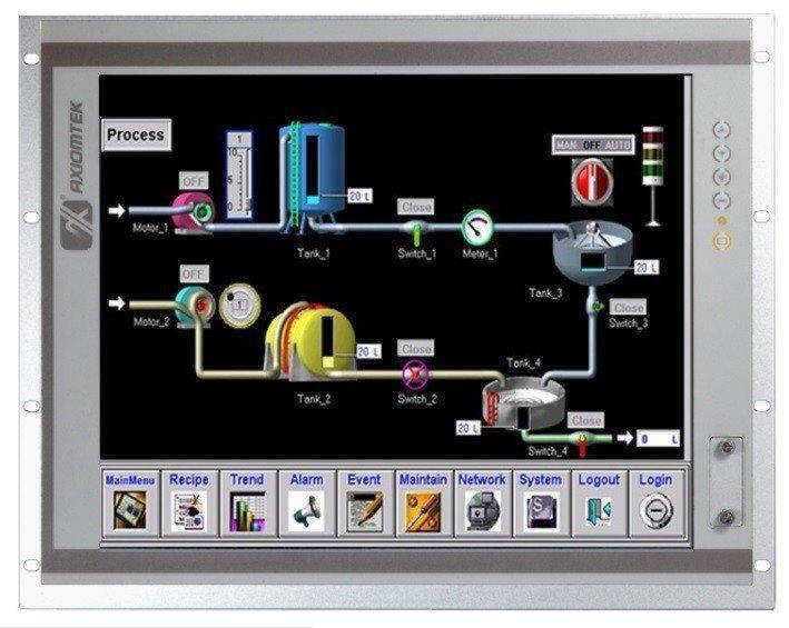 Промышленный компьютер Axiomtek P1197E-861 w/ PCI