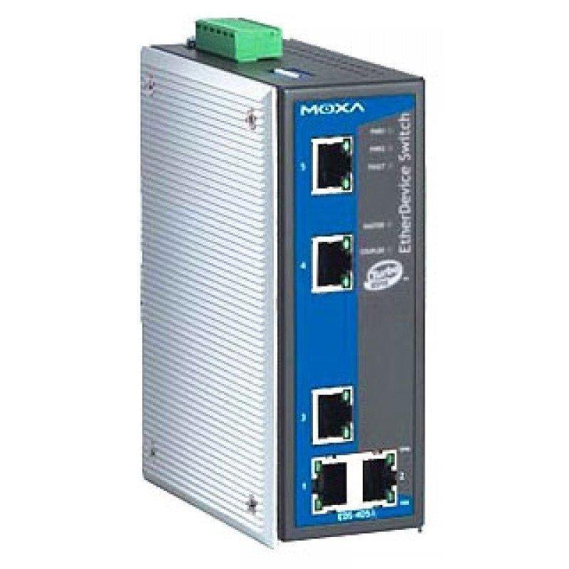 Промышленный коммутатор MOXA EDS-405A-MM-ST-T