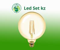 Лампа GLDEN-G95S-10-230-E27-2700, золото