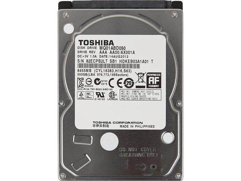 Жёсткий диск Toshiba MQ01ABD050