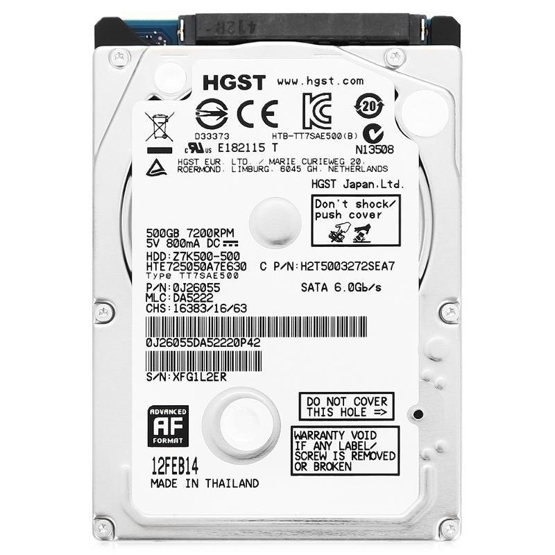 Жёсткий диск HGST HTE725050A7E630 (0J26055)