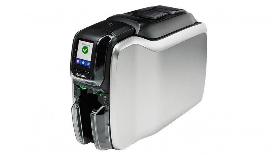 Принтер пластиковых карт Zebra Printer ZC300 (ZC31-000CQ00EM00)