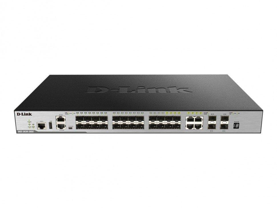 Коммутатор D-Link DGS-3630-28TC (DGS-3630-28TC/A1AMI)
