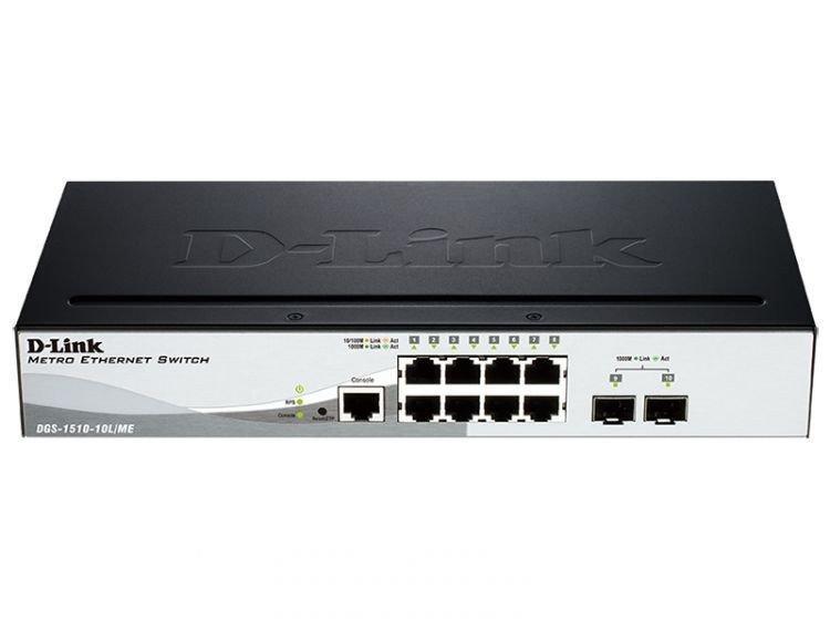 Коммутатор D-Link DGS-1510-10L/ME