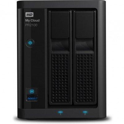 Сетевой накопитель Western Digital My Cloud Pro PR2100 16Tb (WDBVND0160JBK-EEUE)