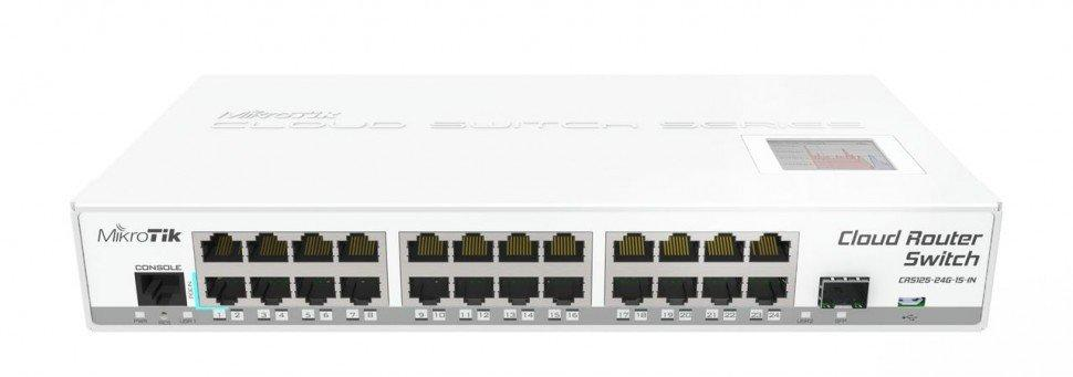 Маршрутизатор MikroTik CRS125-24G-1S-iN