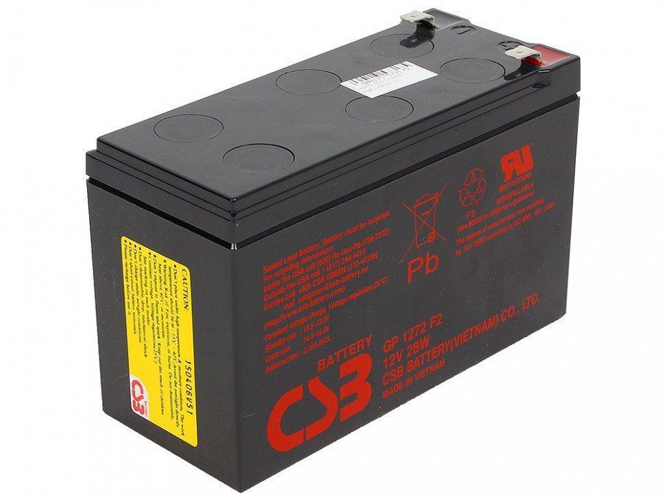 Аккумулятор Csb GP1272 F2 (28W)