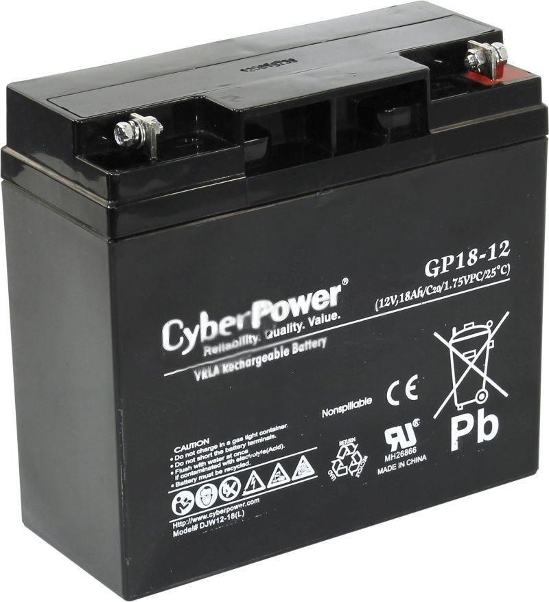 Аккумулятор Cyberpower GP18-12