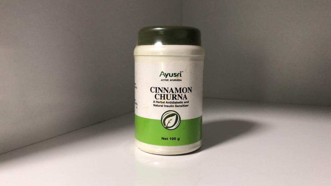 Корица порошок для снижения сахара в крови, 100 гр, Cinnamon churna, Sahul
