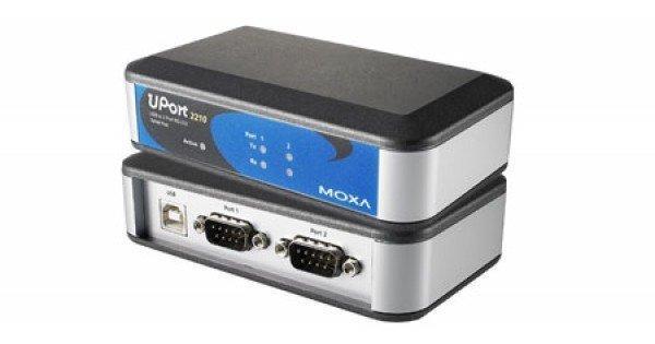 Конвертер MOXA UPort 2410