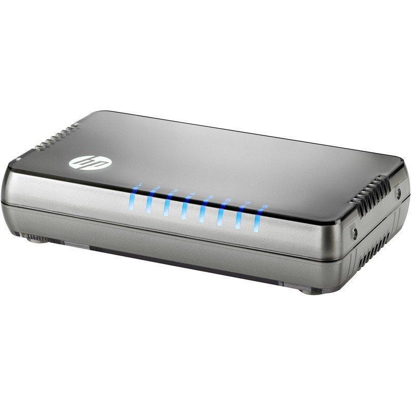 Коммутатор HPE 1405 8G v3 (JH408A)