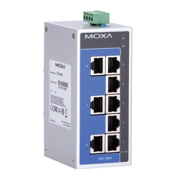 Промышленный коммутатор MOXA EDS-208A-T